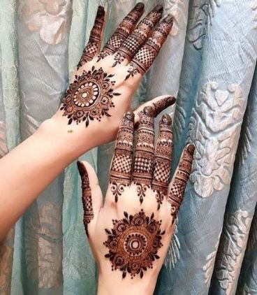 Mandala Design Mehndi Design Back Hand