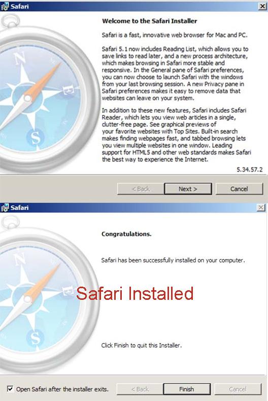 Hướng dẫn Cài đặt Safari cho PC Windows 7/8/10 đơn giản nhất a