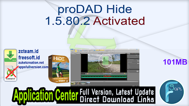 proDAD Hide 1.5.80.2 Activated