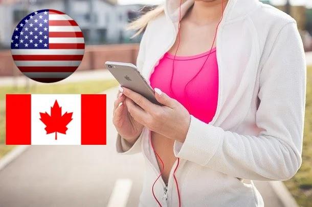 أنجح طريقة للحصول على رقم كندي وأمريكي مجاني مدى الحياة