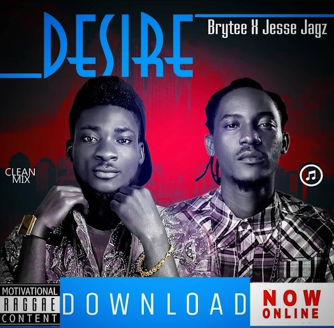 """DOWNLOAD Music: Brytee Feat. Jesse Jagz - """"Desire"""""""