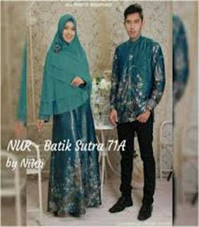 model baju batik terbaru tahun 2018