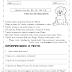 Atividade de leitura e interpretação 3º Ano: Um cão inteligente para imprimir e colorir