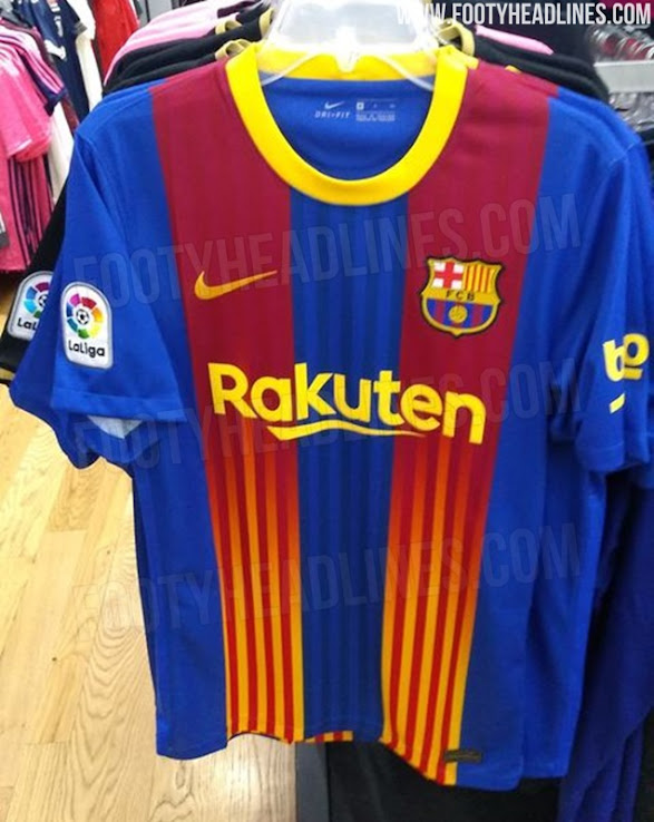 Fc Barcelona 20 21 Fourth Kit Leaked Spotted On Sale Again Footy Headlines