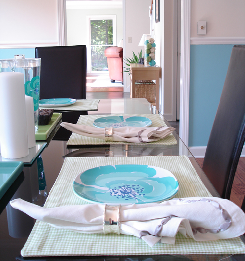 easy sew custom placemats