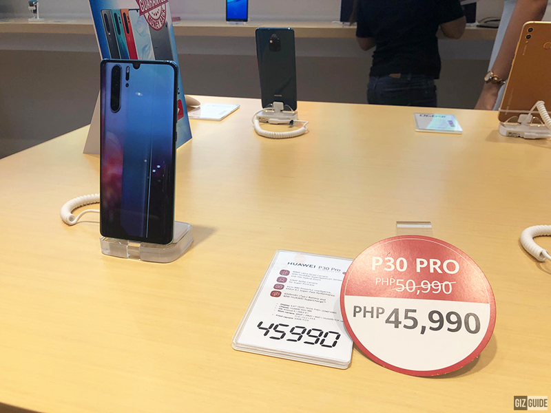 Huawei P30 Pro is now on price drop at Huawei SM City Fairview!
