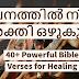 വചനത്തിൽ നിന്ന് ശക്തി ഒഴുകും//English & Malayalam Bible Quotes