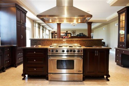 luxury custom kitchen island design