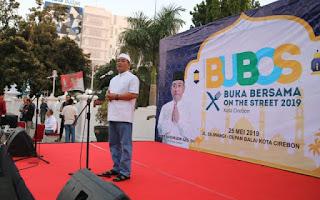 Bubos Serentak Di 27 Wilayah kabupaten Dan Kota Sewilayah Propinsi  Jawa barat, Walikota Cirebon Ajak Masyarakat Bersatu kembali Pasca Pemilu 2019