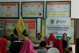 Pemerintah Desa tawali dan Pkm wera melakukan koordinasi evaluasi kesehatan