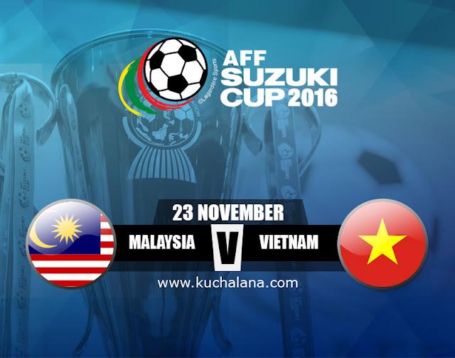 AFF Suzuki Cup 2016 : Malaysia Vs Vietnam