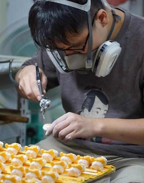 詹姆士夢工廠創意公仔 大葉產學合作工廠實習