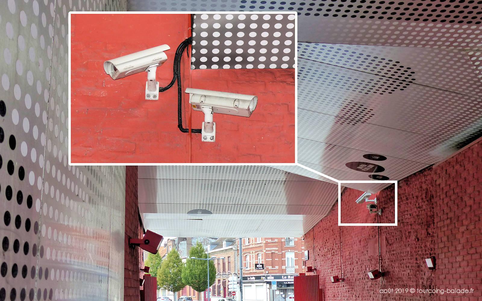 Caméras de Vidéosurveillance - Passage Mongy Tourcoing
