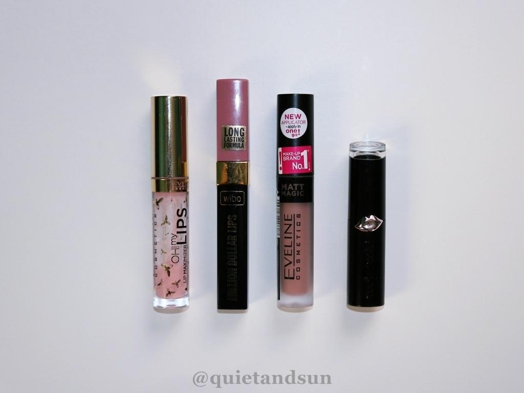 ulubione szminki i błyszczyki