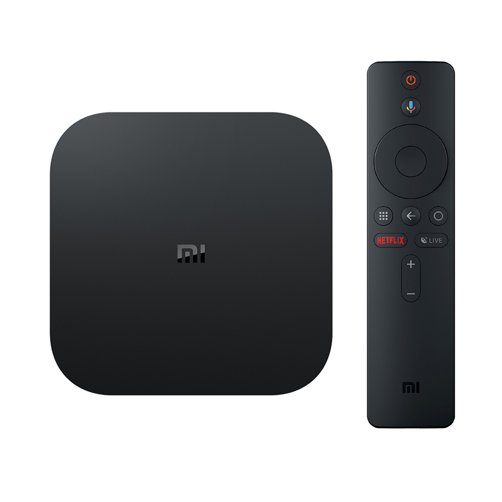 XIAOMI Mi Box S Android 8.1 Support Netflix 4K 2GB/8GB 4K TV Box with Voice Remote Dolby DTS Google Assistant Chromecast AC WiFi Bluetooth - International Version