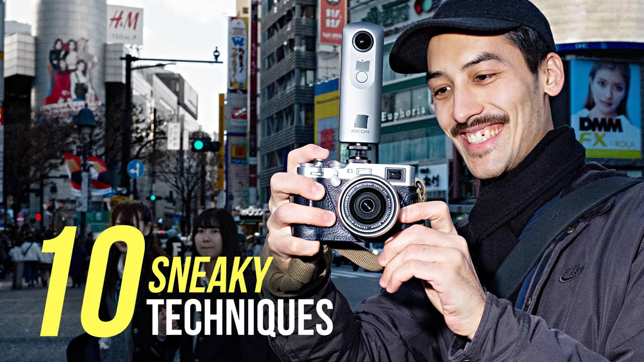 10 SNEAKY Street Photography Techniques