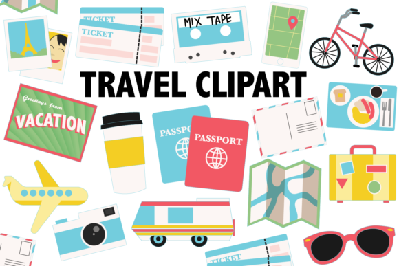 Travel Icons Graphic