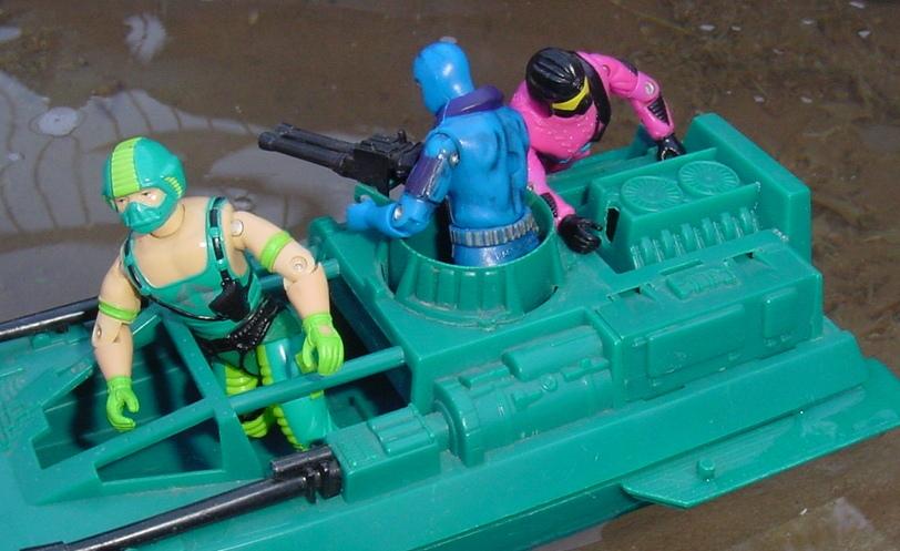 1984 Copperhead, Water Moccasin, 2000 Undertow, 1993 Create A Cobra, Mail away, Rare G.I. Joe Figures
