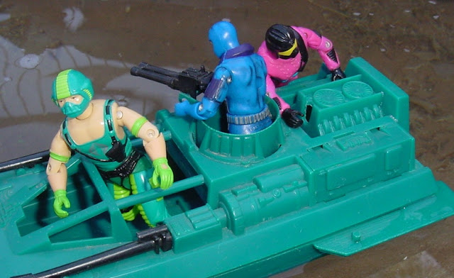 1984 Copperhead, Water Moccasin, 2000 Undertow, 1993 Create A Cobra, Mail away, Rare G.I. Joe Figures