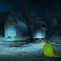 BigEscapeGames Escape from Gloomy Night Forest