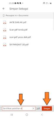 cara scan pdf di hp
