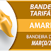 ATENÇÃO: Bandeira tarifária acionada para março é amarela.