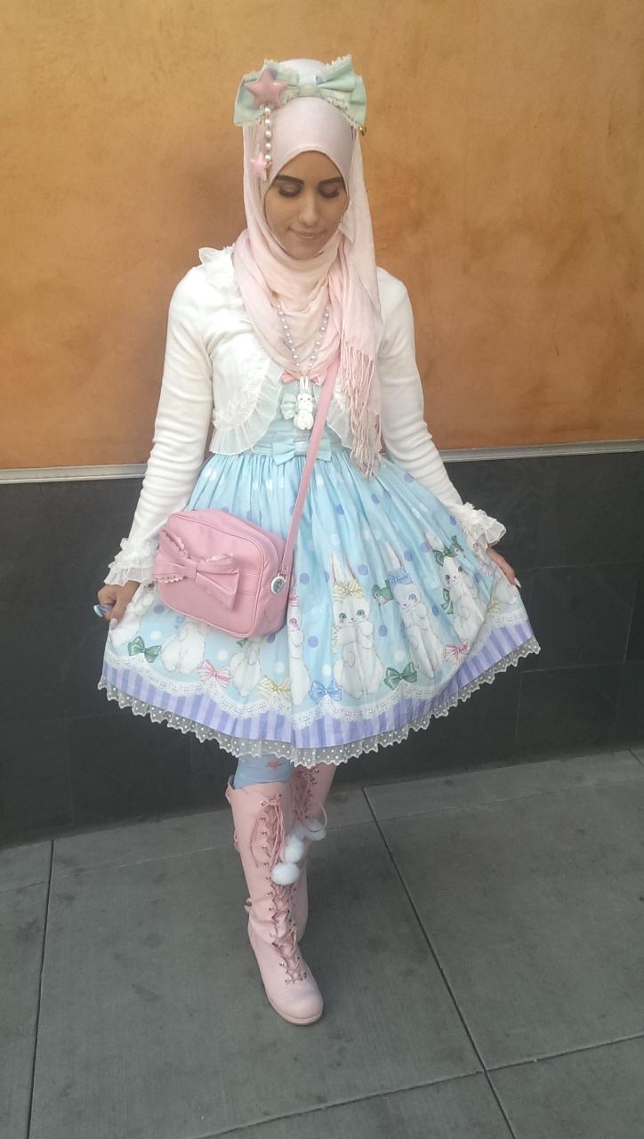 ازياء محجبات مستوحاة الموضة اليابانية tumblr_nmoiucsK6W1qi