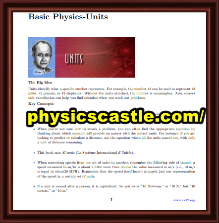 LINK TO Get Basic physics book pdf 2021 physicscastle
