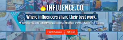 Influence.co Influencer marketing platform