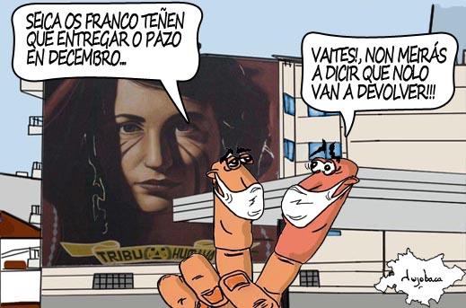 Os Franco aceptan a entrega «provisional» do Pazo de Meirás