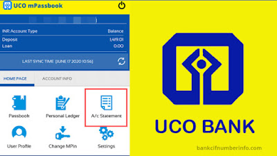 UCO Bank balance check by Mobile app