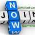 Different ways of joining sentences