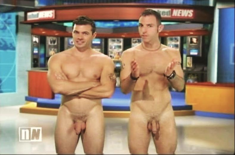 Naked news OnlyFans model