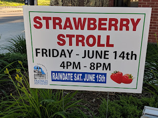 Strawberry Stroll Performance Schedule - June 14