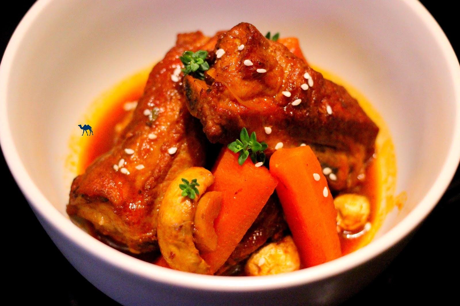 Le Chameau Bleu - Recette coréenne de ragoût - Gastronomie COrée