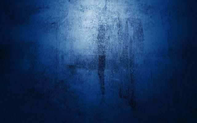 Leuke blauwe wallpaper van een muur