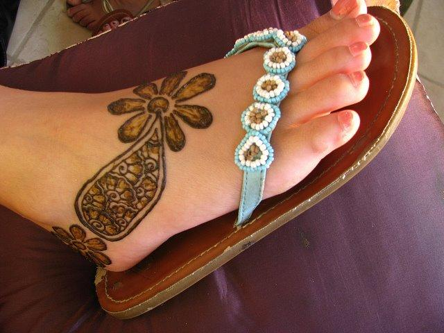 Eid Feet Mehndi Designs 2012 For Girls in Pakistan ~ The ...  Eid Feet Mehndi...