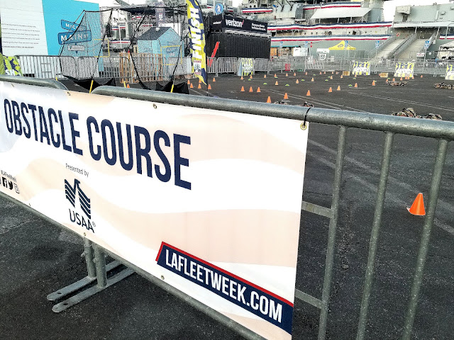 LA Fleet Week 2019 LA Waterfront San Pedro Port of Los Angeles, California Obstacle Course Presented By USAA
