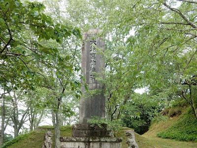 吉野山:大塔宮仰徳碑