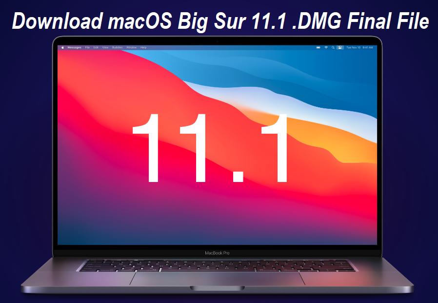 Download macOS 11.1 Final