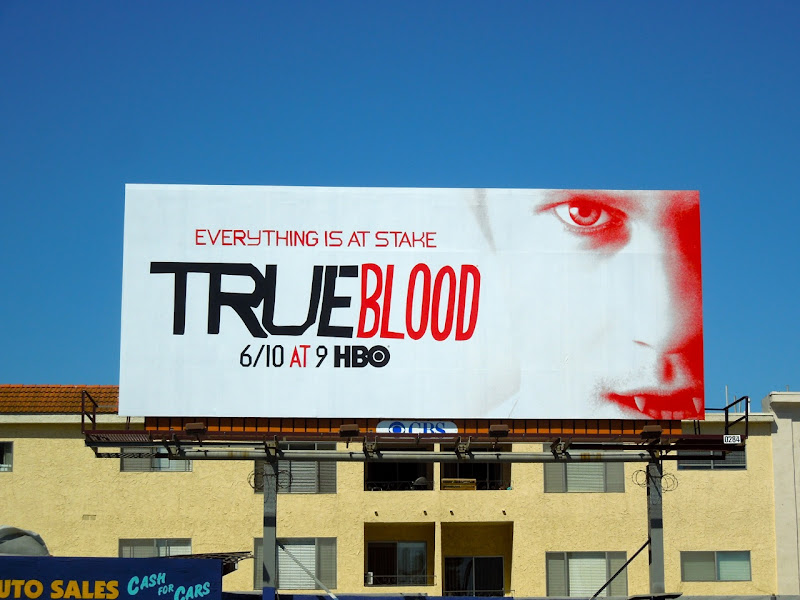 True Blood season 5 Eric Northman billboard