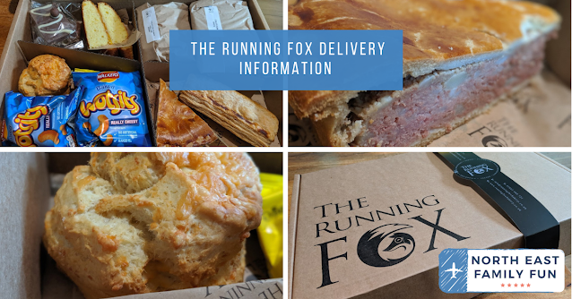 The Running Fox Delivery Information