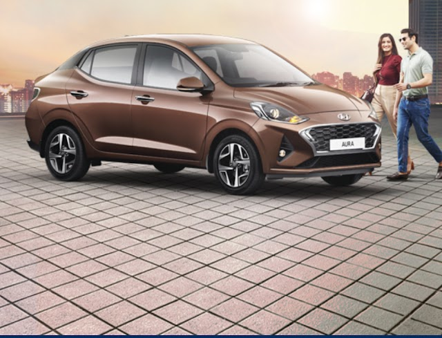 Hyundai finally launch her compact sedan all new Aura.