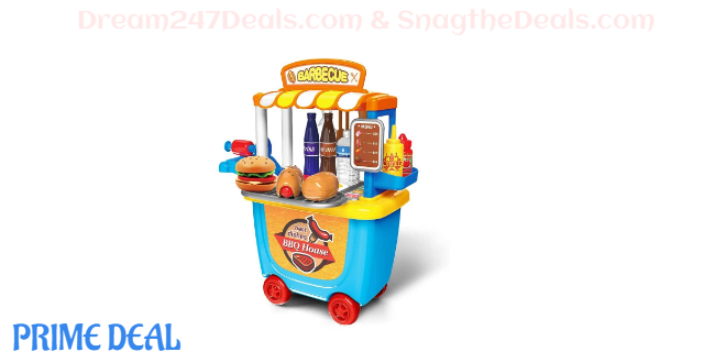 50% OFF Pretend Play for Kids Kitchen--33PCS