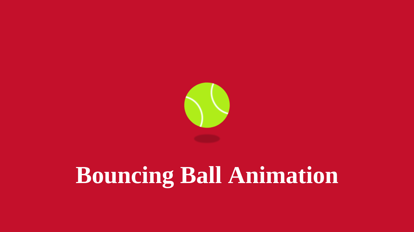 bouncing ball animation using css | css animation, animation css, pure css