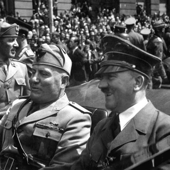 18 March 1940 worldwartwo.filminspector.com Hitler Mussolini
