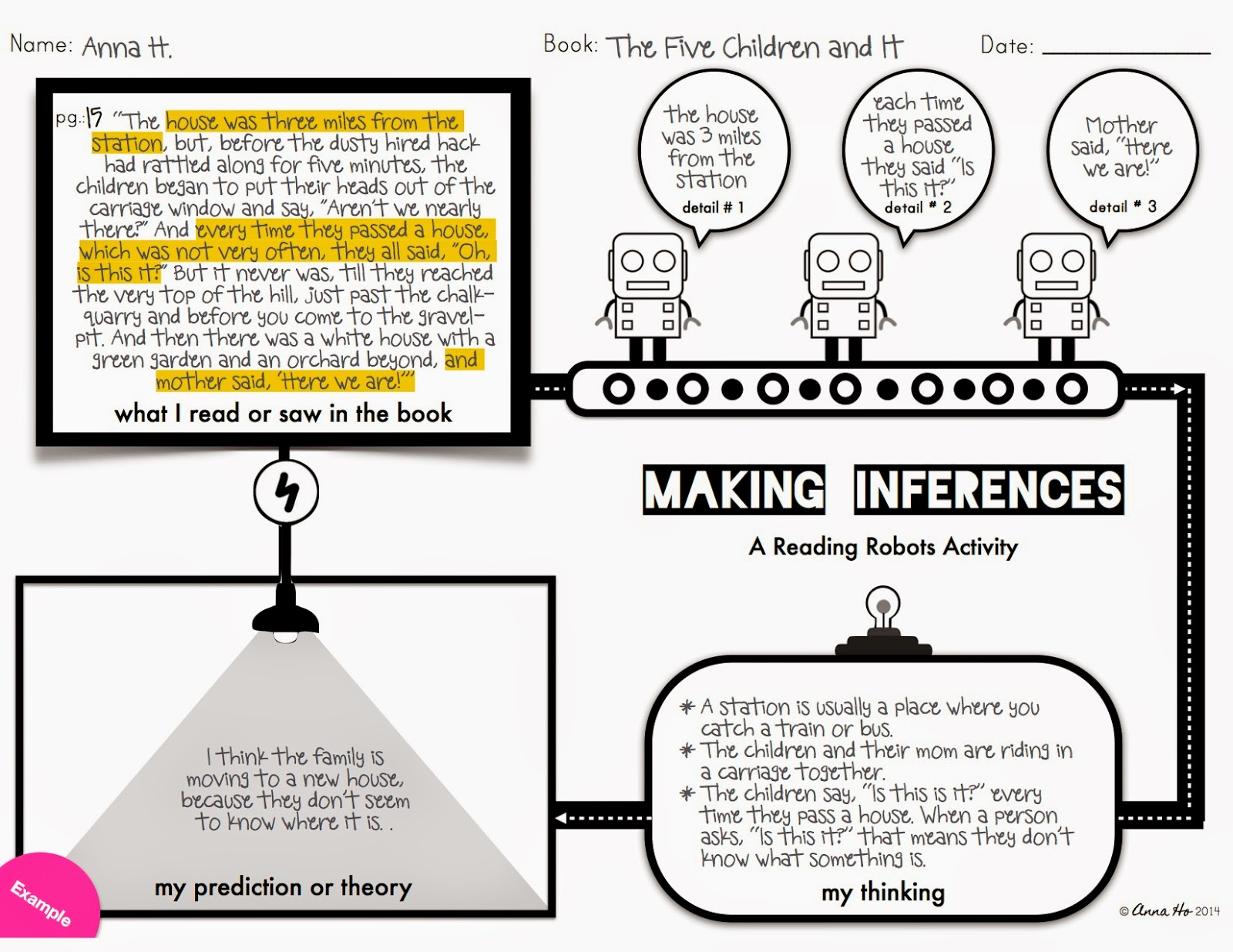 This Week S Freebie Making Inferences With The Reading