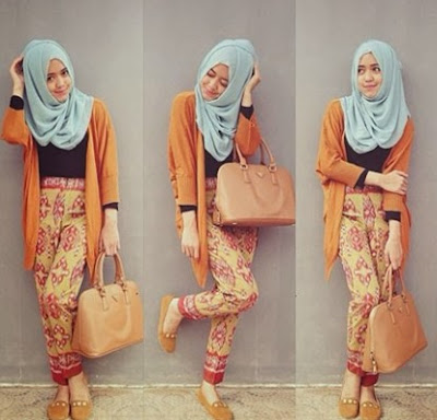 model fashion hijab terbaru