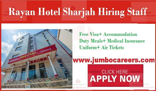 Housekeeping Jobs in UAE, New Hotel jobs in UAE,