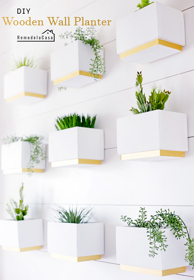 Spring decor ideas - gallery wall